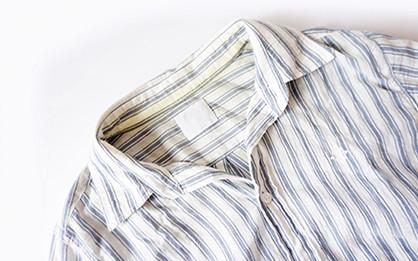 衣類の黄ばみ防止